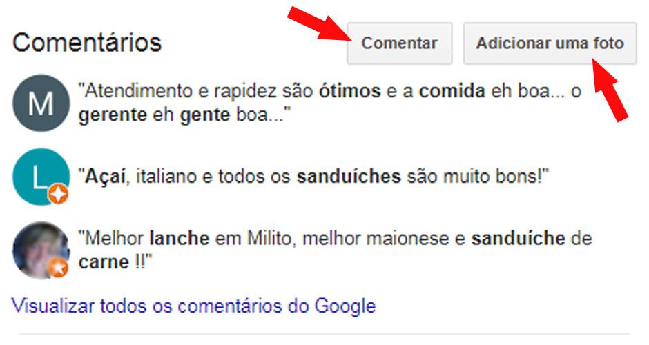 Problemas no perfil do Google Meu Negócio que você não sabia Google Meu Negócio Otimização de Buscas (SEO) comentarios-google-meu-negocio-niteroi