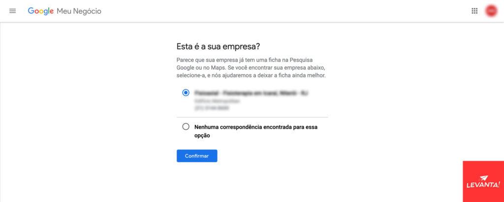 Como reivindicar minha empresa no Google Meu Negócio Google Meu Negócio SEO  confirmar-empresa-gmn-1024x411