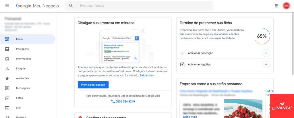 Como reivindicar minha empresa no Google Meu Negócio Google Meu Negócio SEO  ficha-gerenciamento-gmn-1024x411