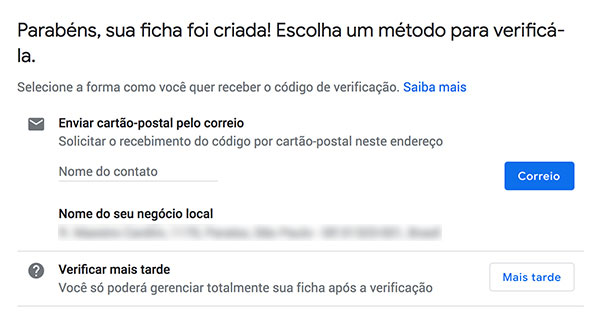 Como reivindicar minha empresa no Google Meu Negócio Google Meu Negócio SEO  verificar-perfil-google-meu-negocio