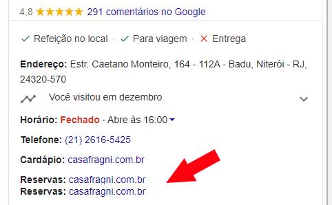 Alerta: Roubo de perfil do Google Meu Negócio é um problema crescente! Google Meu Negócio Marketing Digital  casa-fragni-Pesquisa-Google