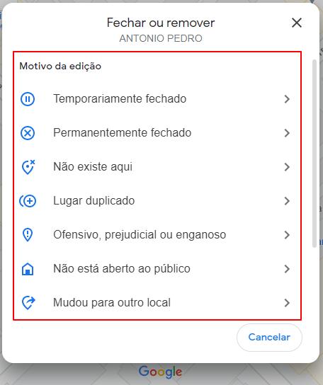 Como excluir Google Meu Negócio (passo a passo para apagar a ficha!) Google Meu Negócio  Excluir-ficha-Google-Maps3-min