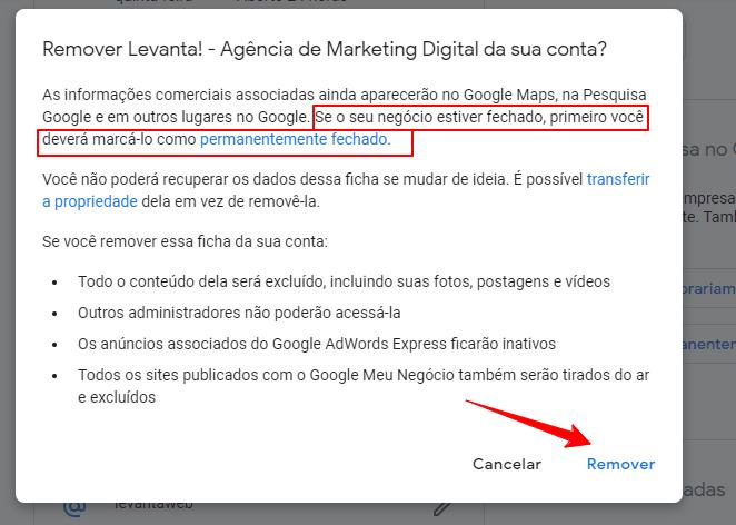 Como excluir Google Meu Negócio (passo a passo para apagar a ficha!) Google Meu Negócio  Excluir-ficha-Google-Meu-Negocio-3-min