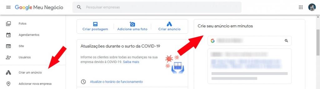Top 5 ferramentas do Google para turbinar o seu Google Meu Negócio Marketing Digital  painel-google-meu-negocio-ads-min-1024x285